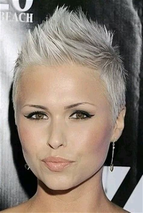 platinum hair on older women 3189 best images about pixie hawks on pinterest short