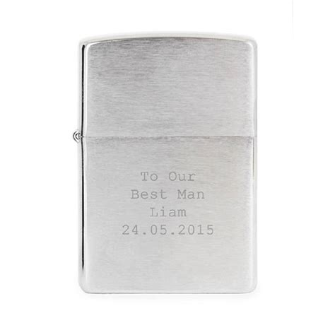 engraved zippo personalised zippo usa lighter by perfect