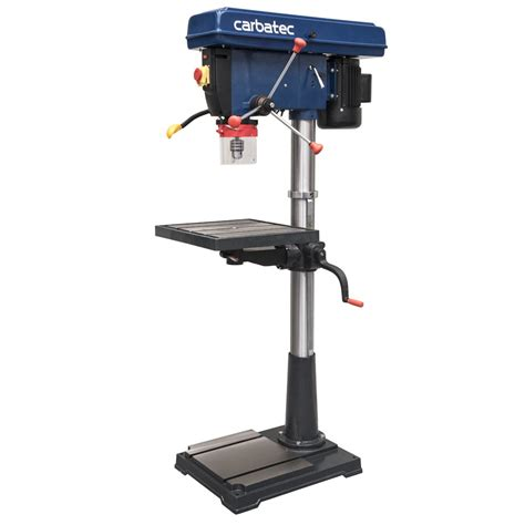 pedestal drill carbatec 2hp 12 speed extra heavy pedestal drill press