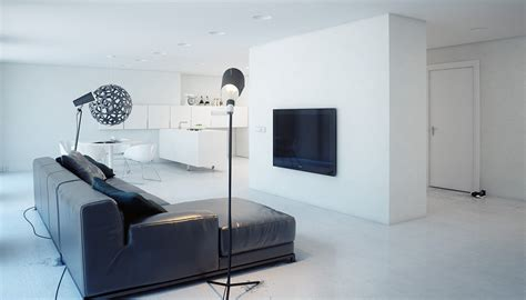 minimalist one room apartment minimalist q1 apartment in russia by modom studio wave