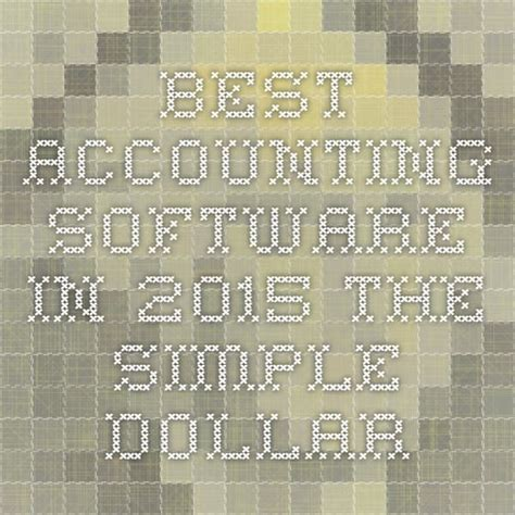 best small business accounting software best 25 best accounting software ideas on