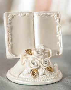 bible book wedding favors and place card holder wedding collectibles