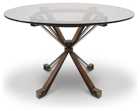 Dining Table Base Only Denver Metal Dining Table Base Only Transitional Dining Tables By Seldens Furniture