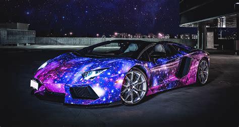 blue galaxy lamborghini lamborghini aventador roadster galaxy wrap hq classy bro