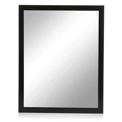 black mirror parents guide wilko black frame mirror 41 x 52cm at wilko com