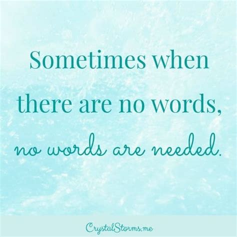 words to comfort a friend when there are no words crystal storms