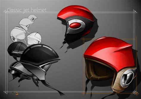 helmet design presentation industrial design sketches by erwan besancon nice exle