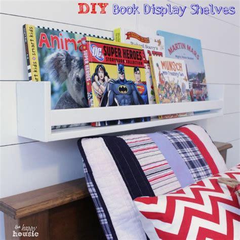 Diy Book Display Shelf by Diy Book Display Wall Shelves Pb Knock The