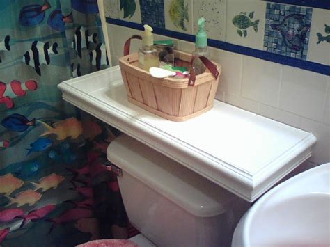 the toilet table what can i use as a table my toilet since there is no