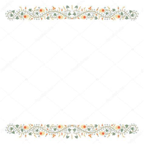 disegno cornici disegno a mano libera piante naturali e cornice fiori