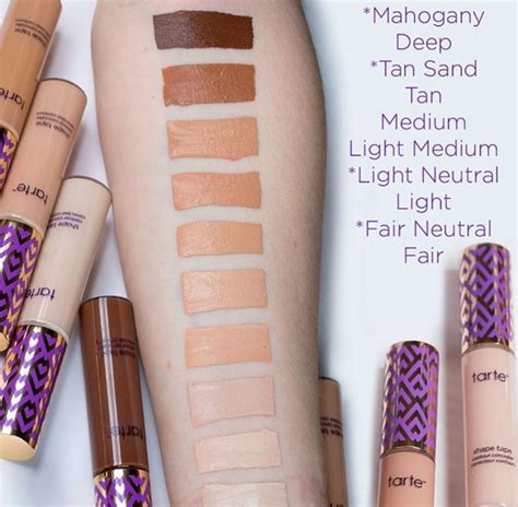 true colour tattoo york prices what shades do the tarte cosmetics shape tape concealers