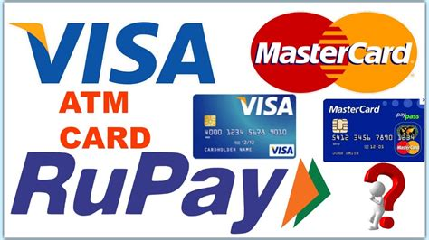 what is card what is rupay card visa card and mastercard explain