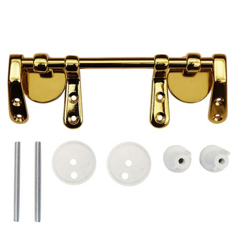 brass toilet seat hinge replacement brass bar hinge set for wooden toilet seats at