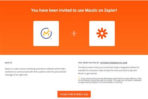 Zapier Mautic Invitation Innotiom Mautic Email Templates