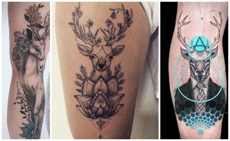 imagenes de tatuajes de venados tatuajes de ciervos y venados para hombres y mujeres