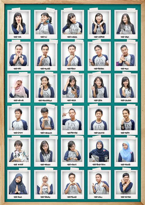 layout buku kenangan buku tahunan sekolah yearbook