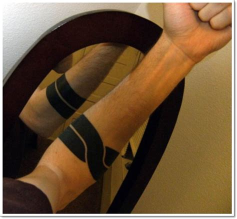 solid black armband tattoo meaning 25 superb armband designs