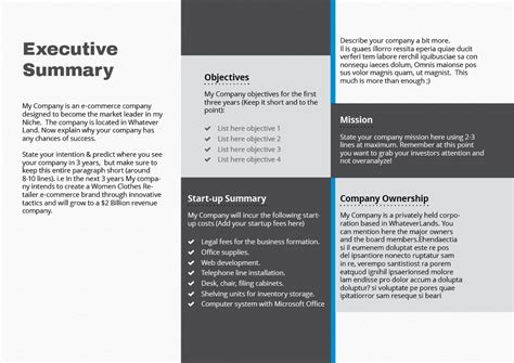 design haven quick business plan template elevator