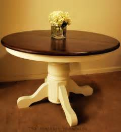russet reno free pedestal table