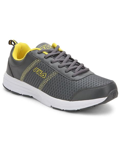 purchase of sports shoes fila ormanno gray sports shoes price in india buy fila