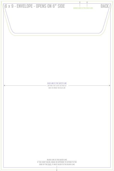 9 envelope template speedyprint envelope templates