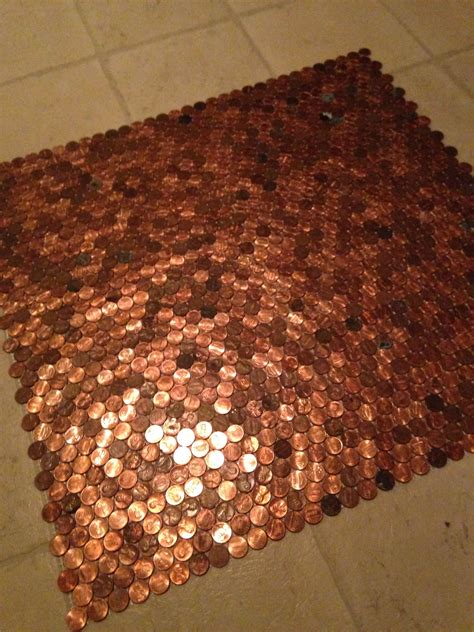 aaron lane copper tile tile step by step how to on pennies floor tile floors and tile