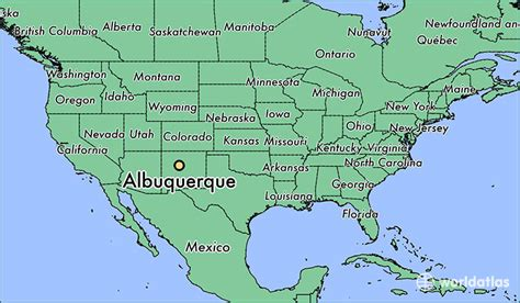 albuquerque map where is albuquerque nm albuquerque new mexico map worldatlas