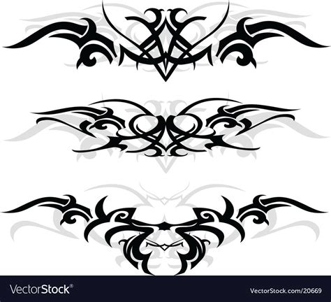 make a tattoo design online free tribal designs royalty free vector image