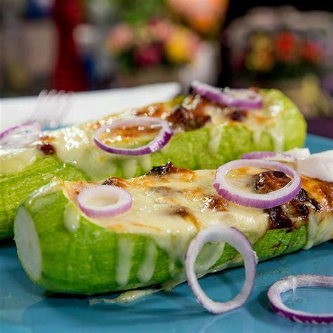 zucchini boat recipes with chicken chicken zucchini boats so delicious