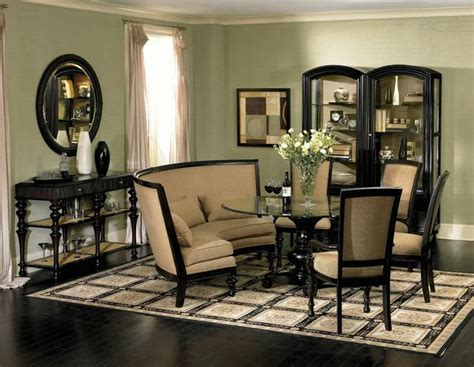 Dining Room Banquette Furniture Ventura Traditional Banquette Style Dining Room Table Chairs Se