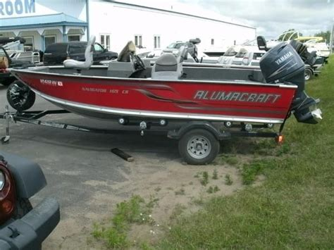 used alumacraft boats for sale in michigan alumacraft new and used boats for sale in michigan