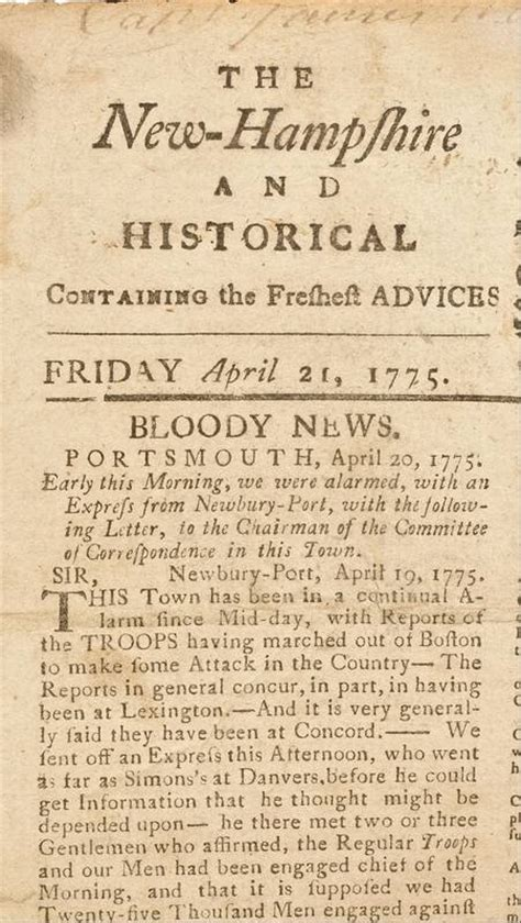 new plymouth newspaper newspapers help to tell story of american revolution