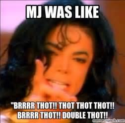 Thot Meme - brrr thot