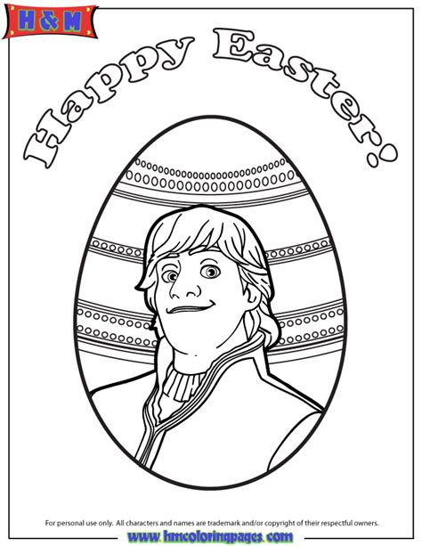 frozen easter coloring page kristoff easter coloring page h m coloring pages