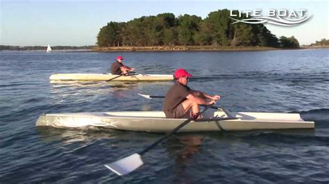 rowing boats for sale australia liteboat a new concept of rowing boat youtube