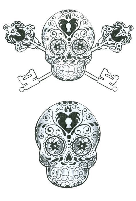skull tattoos for couples skull couples tats