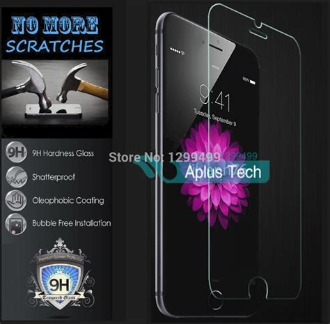 Tempered Glass Hippo Iphone 6g 4 7 Iphone 7g 4 7 Iphone 8 4 7 premium tempered glass screen protector for iphone 6 6s