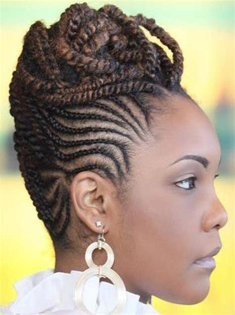 mohawk spring twist top 5 cornrow hairstyle inspiration hairstyles spot