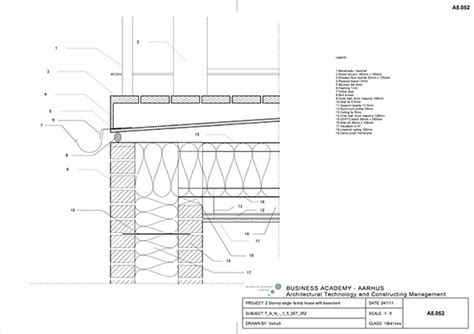 balcony section 2 story single family house with basement on behance