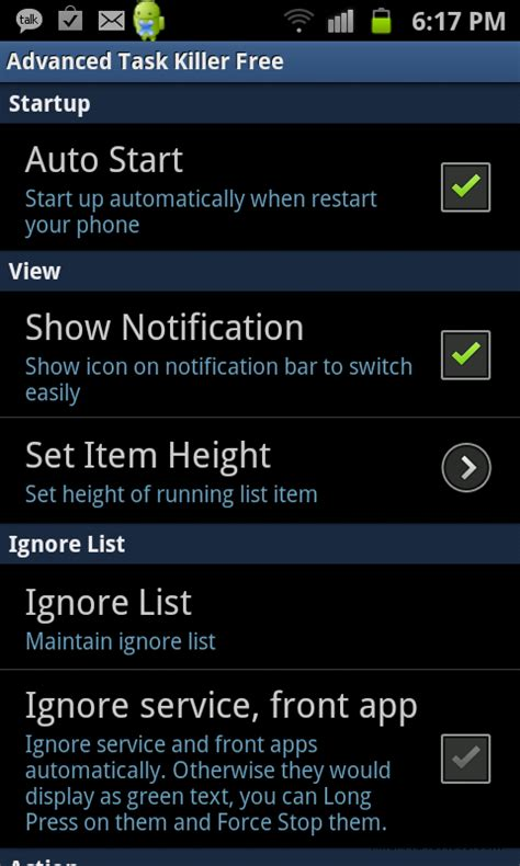 killer app for android how to stop kill an android application android advices