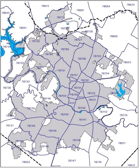 georgetown texas zip code map central texas zip codes zip code boundary map