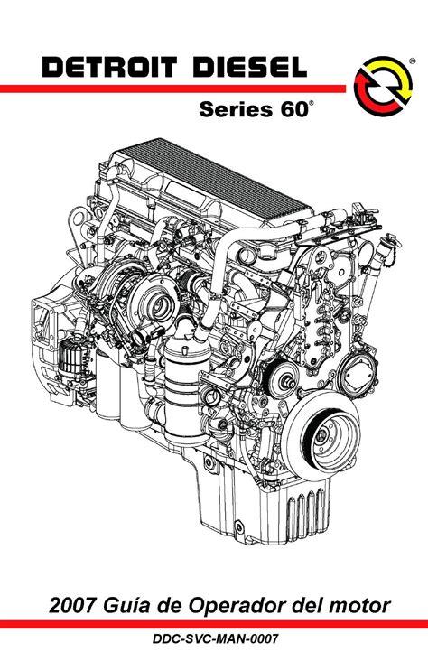 Caterpillar Dt 50 Dt 163 24 114 gu 205 a operador 2007 motor de la serie 60 by
