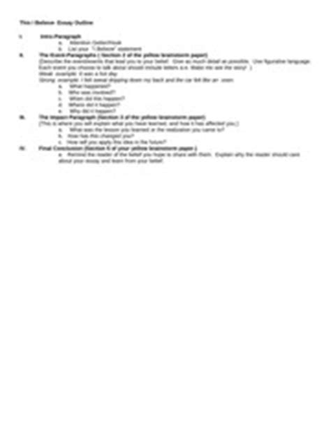 This I Believe Essay Format by 2014 Avid Binder Organization Guidelines 4 Cornell Notes Date Order 5 Green Trfs Date Order 6