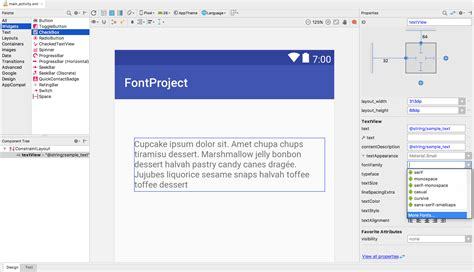 layout editor files font app for android free download