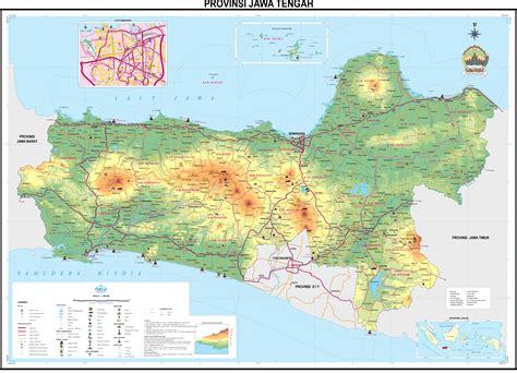 Republik Indonesia Propinsi Djawa Tengah peta provinsi wilayah nkri di pulau jawa fery sujarman