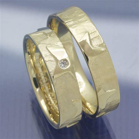 Trauringe Gelbgold 585 by Eheringe Shop Trauringe 585 Gelbgold Sterne