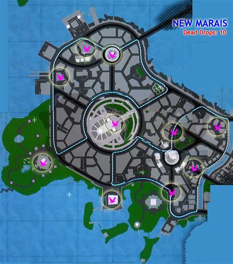 dead drop dead drop locations infamous 2 guide