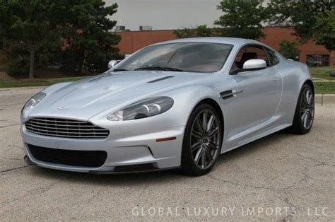 Aston Martin Dbs For Sale Usa by Sell Used 2009 Aston Martin Dbs Coupe In Willowbrook