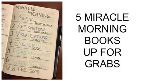 the miracle morning companion planner books mchallenge 4 4 the new you plan