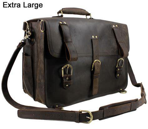 Trevel Bag Hk Ori 45x14x28 vintage leather travel bag luggage bag big
